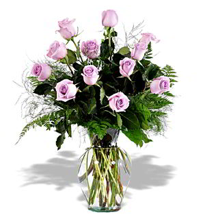 Parsippany Florist | 12 Lavender Roses