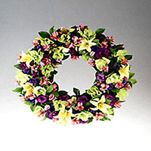 Parsippany Florist | Spring Wreath